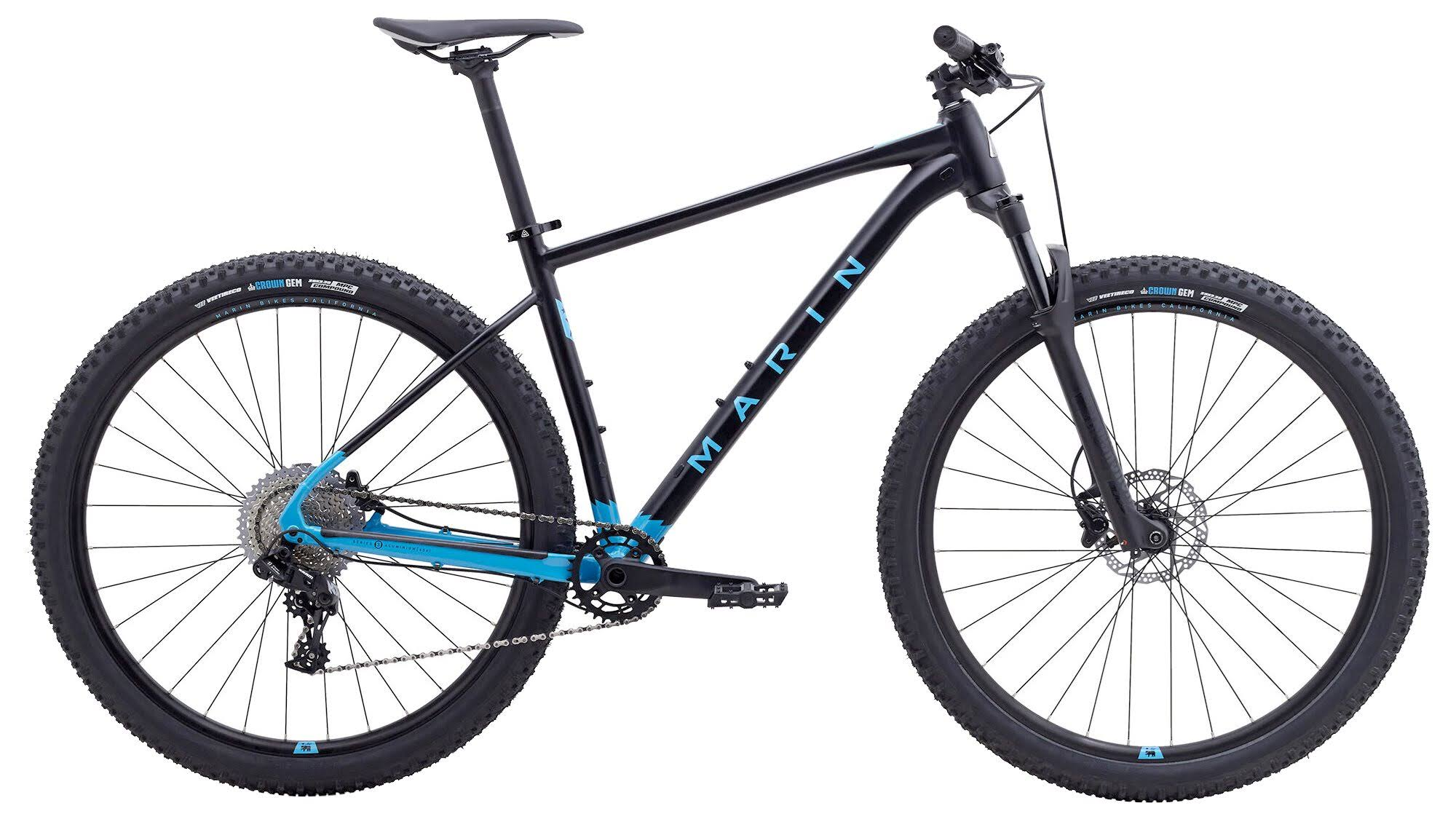 Marin Team Marin Mountain Bike 2020 Satin Black / Cyan / MD