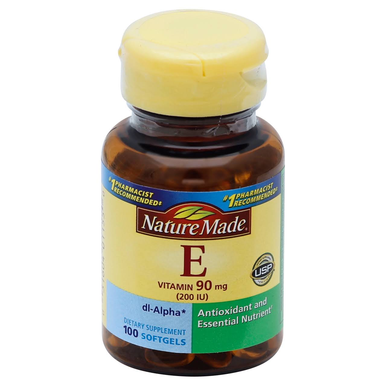 Nature Made Vitamin E 200 IU Softgels