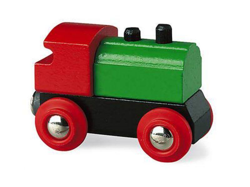 "Brio 33610 Classic Wooden Railway Engine - 4.1"" x 1.6"" x 5.2"""