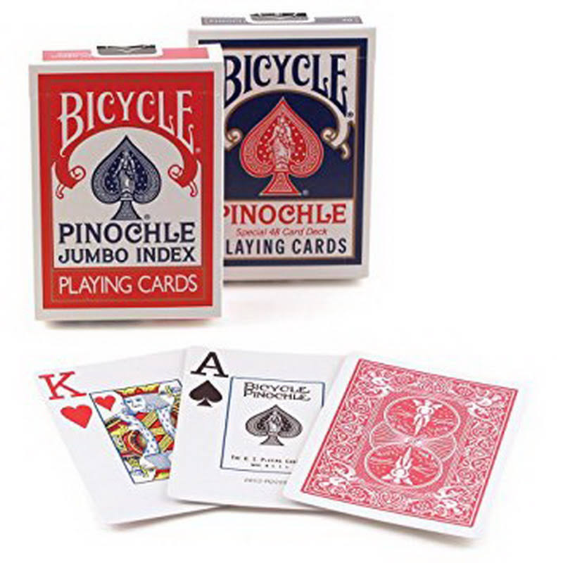Bicycle Jumbo Pinochle Playing Cards