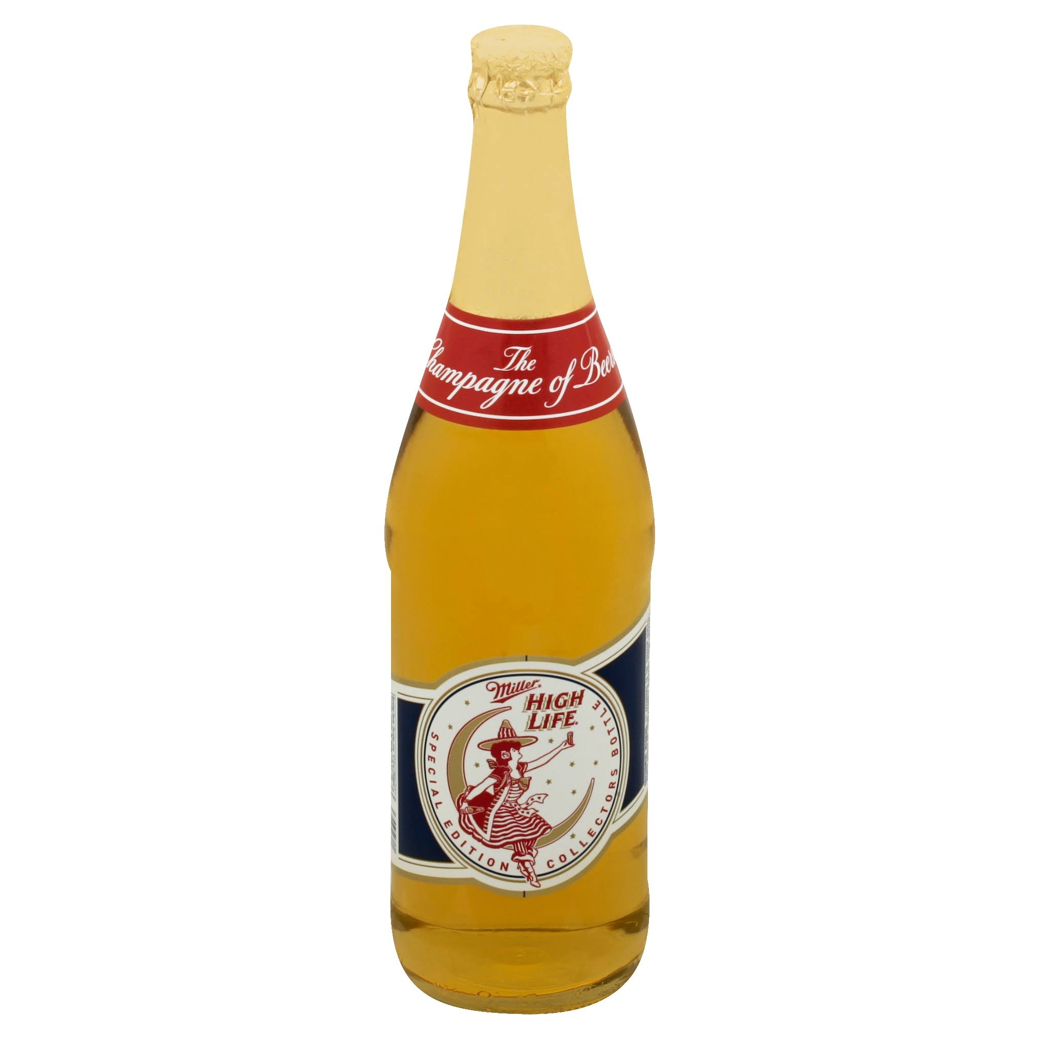 Miller Beer, High Life - 25.4 fl oz