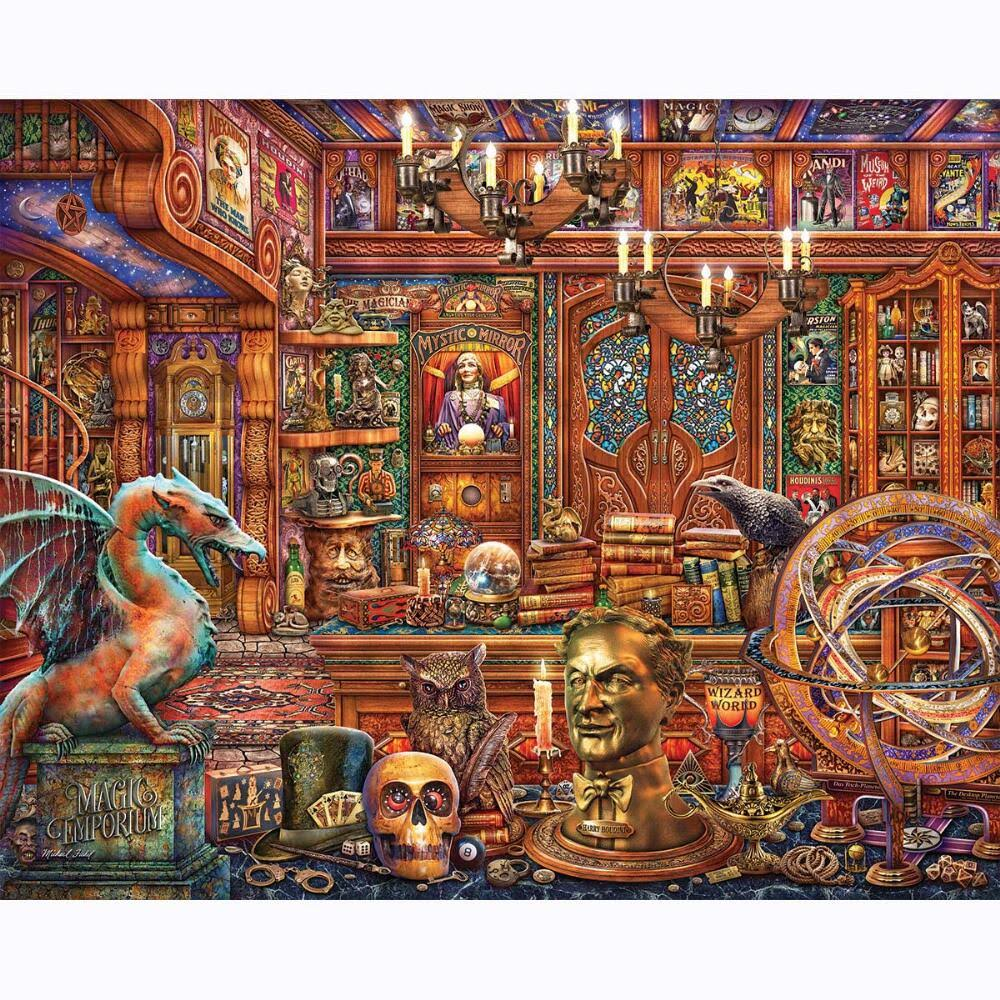 Springbok Magic Emporium 500 Piece Jigsaw Puzzle