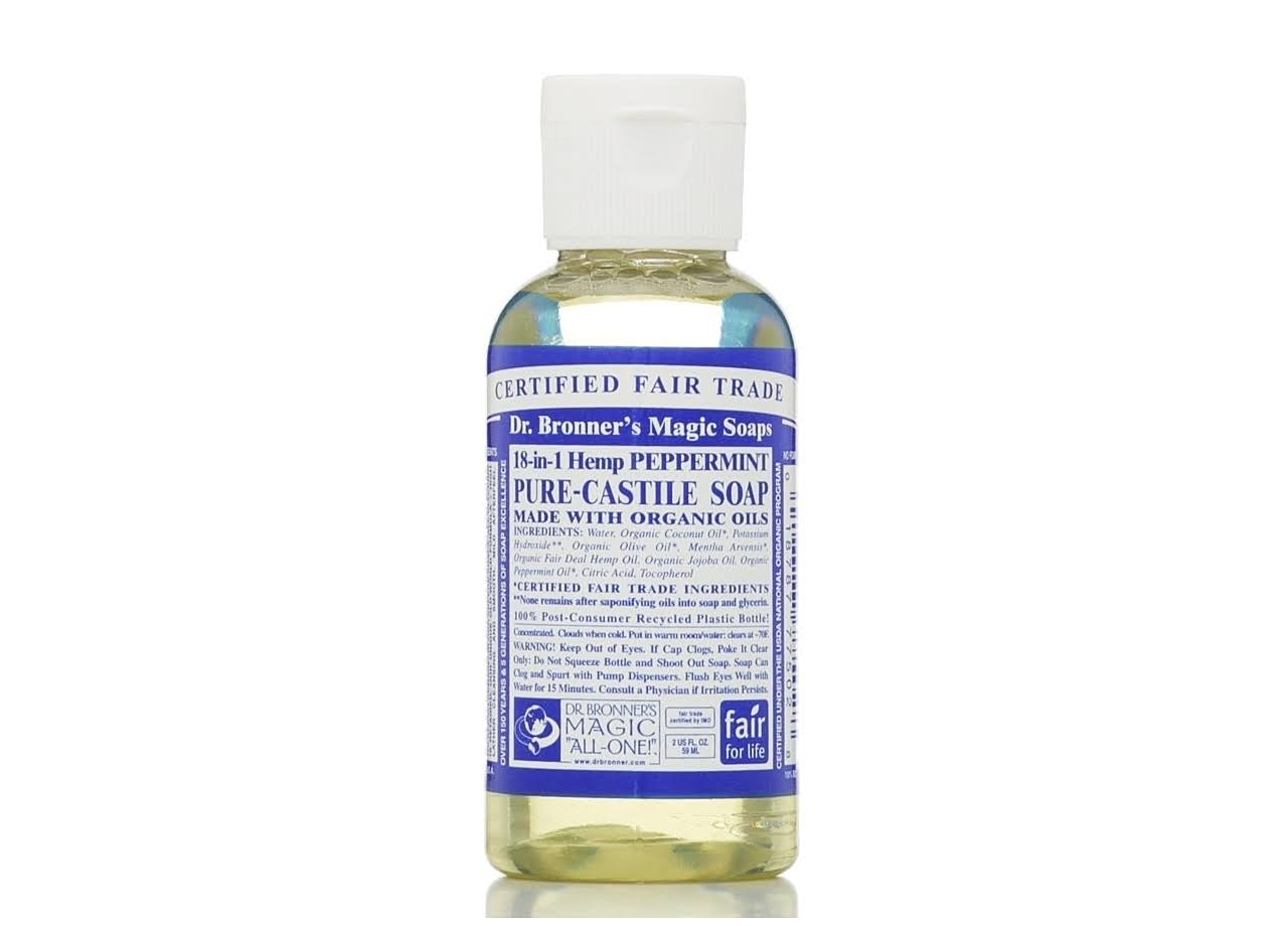 Dr. Bronner's Fair Trade & Organic Castile Liquid Soap - Peppermint