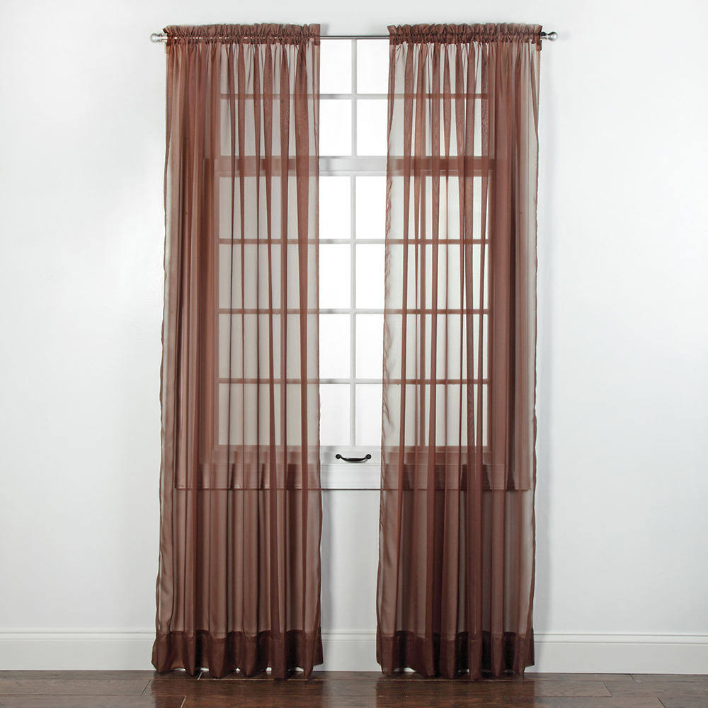"Stylemaster Elegance Sheer Voile, 60"" x 84"" 