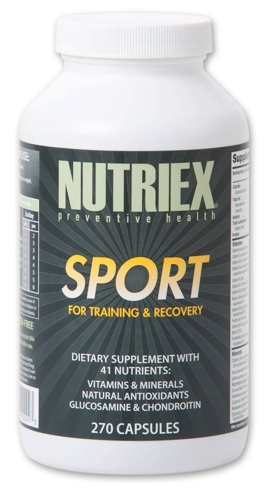 Nutriex Sport Comprehensive Multivitamin Supplement - 270ct