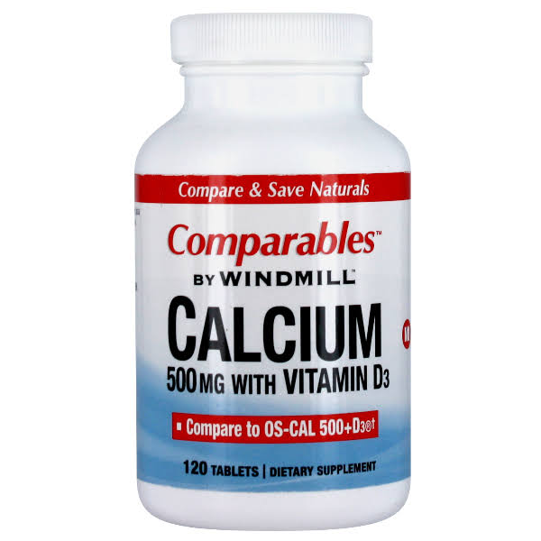 Windmill Comparables Calcium Supplement - 120 Tablets