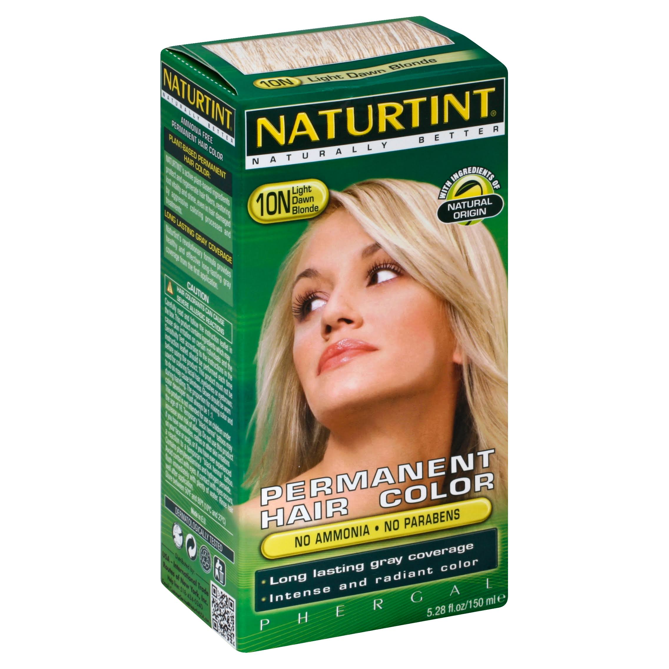 Naturtint Permanent Hair Color 10N Light Dawn Blonde