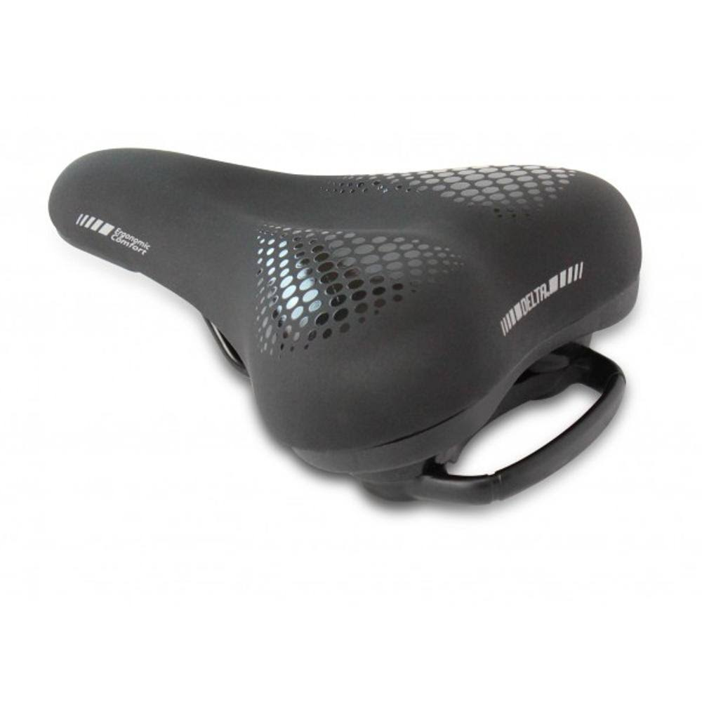 Delta Comfort Saddle - 260x170mm (Black)