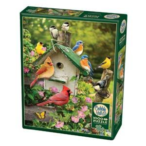 Cobble Hill Summer Birdhouse Jigsaw Puzzle