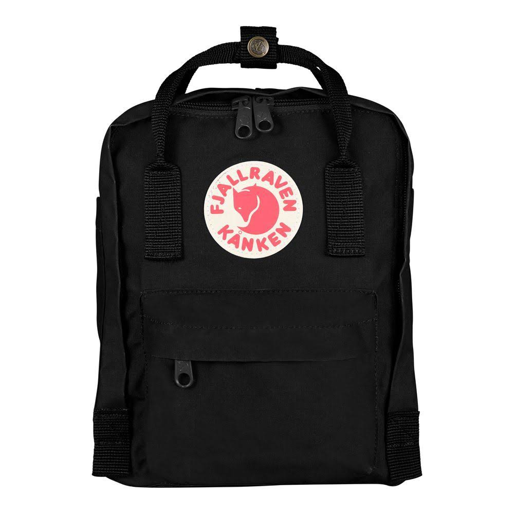 Fjallraven Kanken Mini Backpack, Black