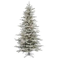 7ft Black Pencil Christmas Tree by Amazon Com Vickerman Pre Lit Flocked Slim Sierra Tree With 250