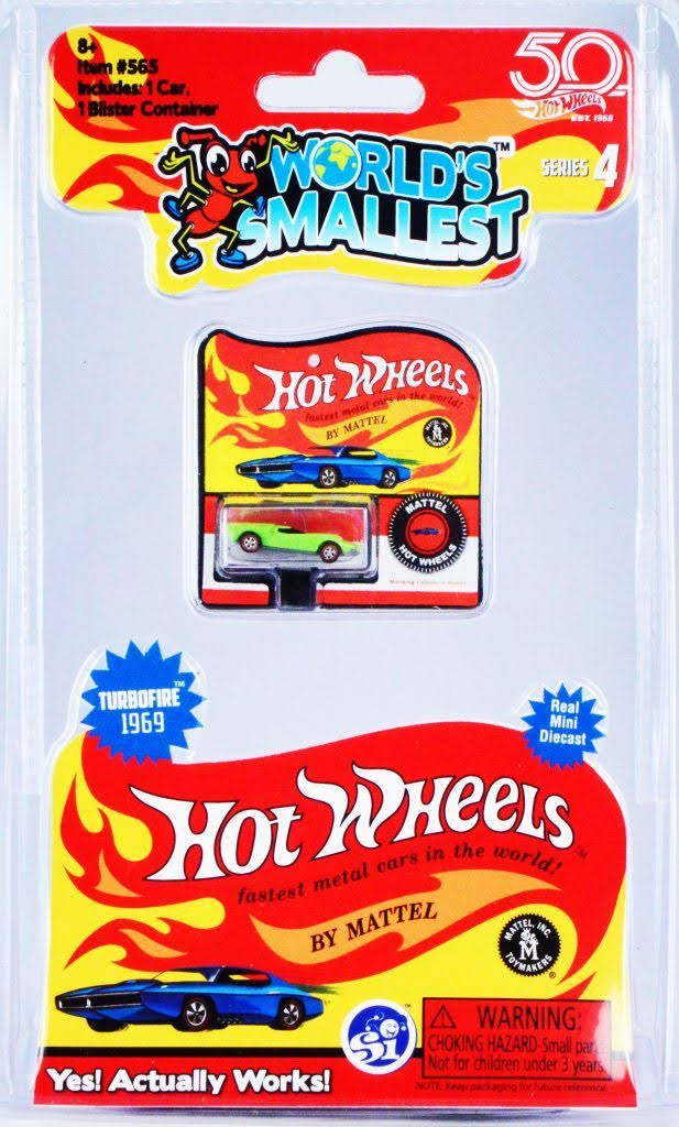 World's Smallest Hot Wheels Series 4