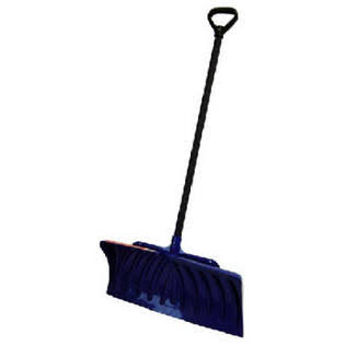 Suncast SP2725 Snow Shovel/Pusher And D-Grip Handle - Navy, 27""