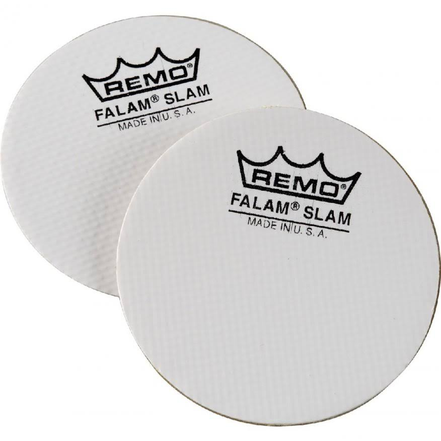 "Remo Falam Slam Pad Kevlar Bass Drum Patch - 2.5"", 2ct"