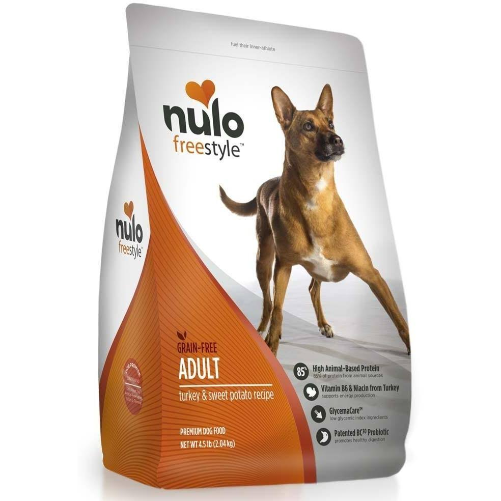 Nulo FreeStyle Grain Free Adult Dry Dog Food - Turkey & Sweet Potato