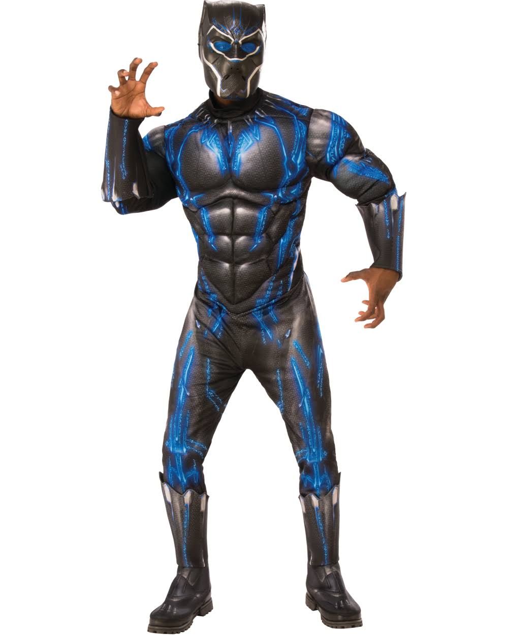 Black Panther Deluxe Mens Battle Suit Costume
