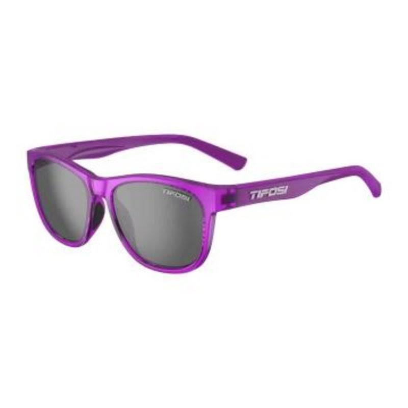 Tifosi Swank Single Lens Sunglasses - Ultra Violet/Smoke