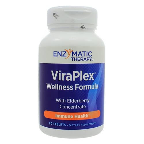 Enzymatic Therapy Vira Plex DIetary Supplement - 80 Tablets