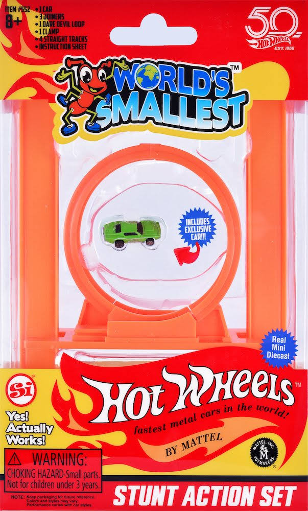 Hot Wheels World's Smallest Stunt Action Set