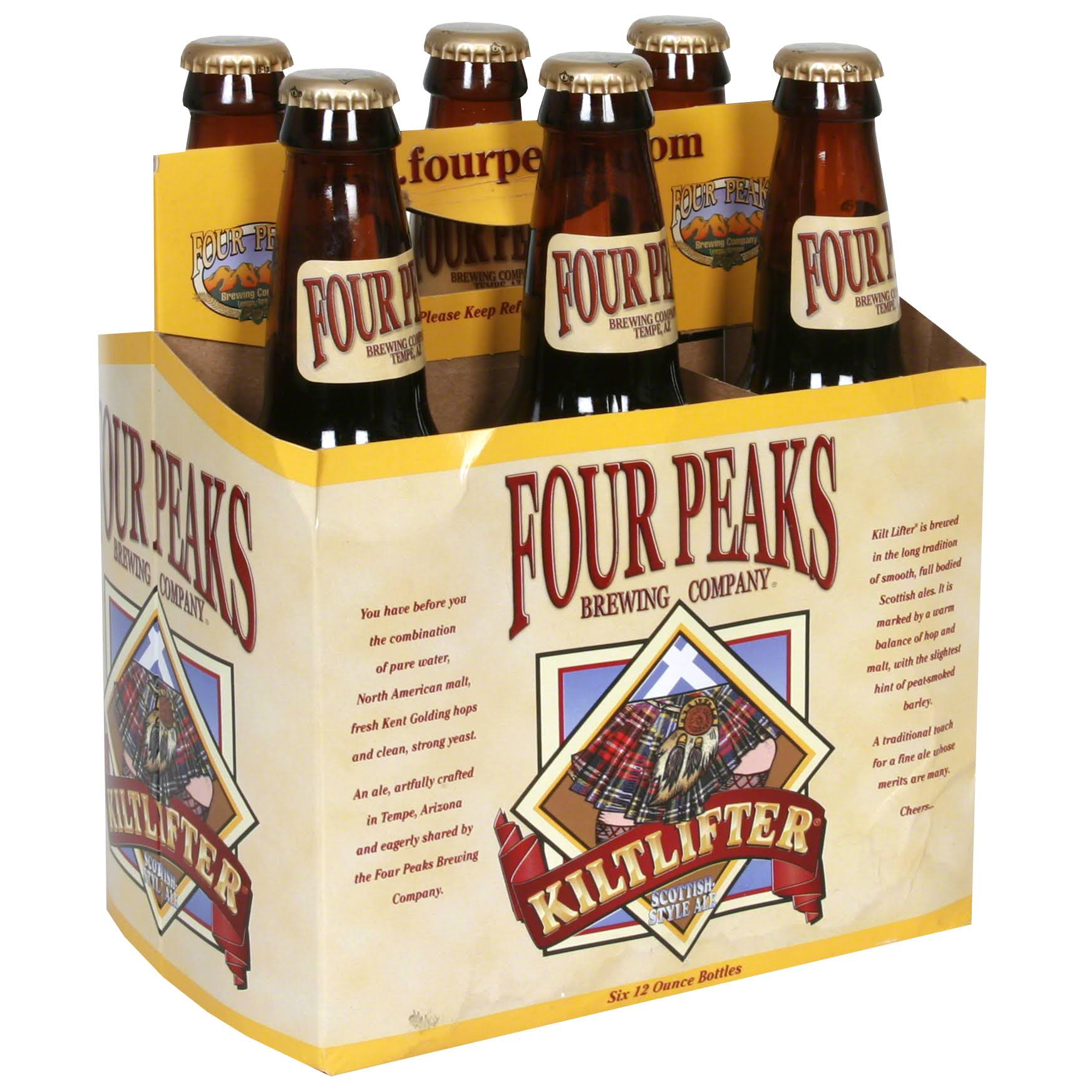 Four Peaks Kiltlifter Scottish Style Ale - 6 Pack