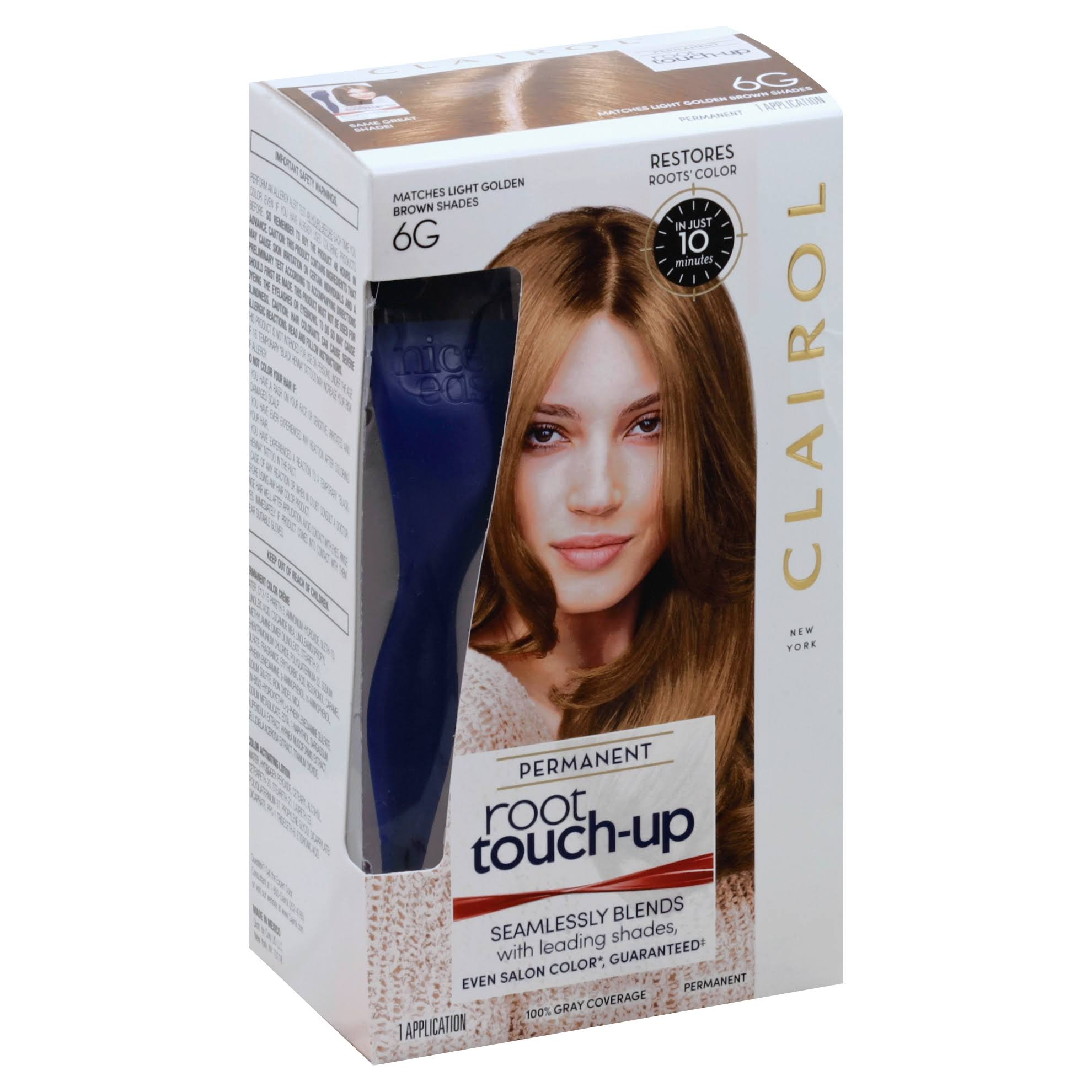 Clairol Nice 'n Easy Root Touch-Up, 6G Light Golden Brown