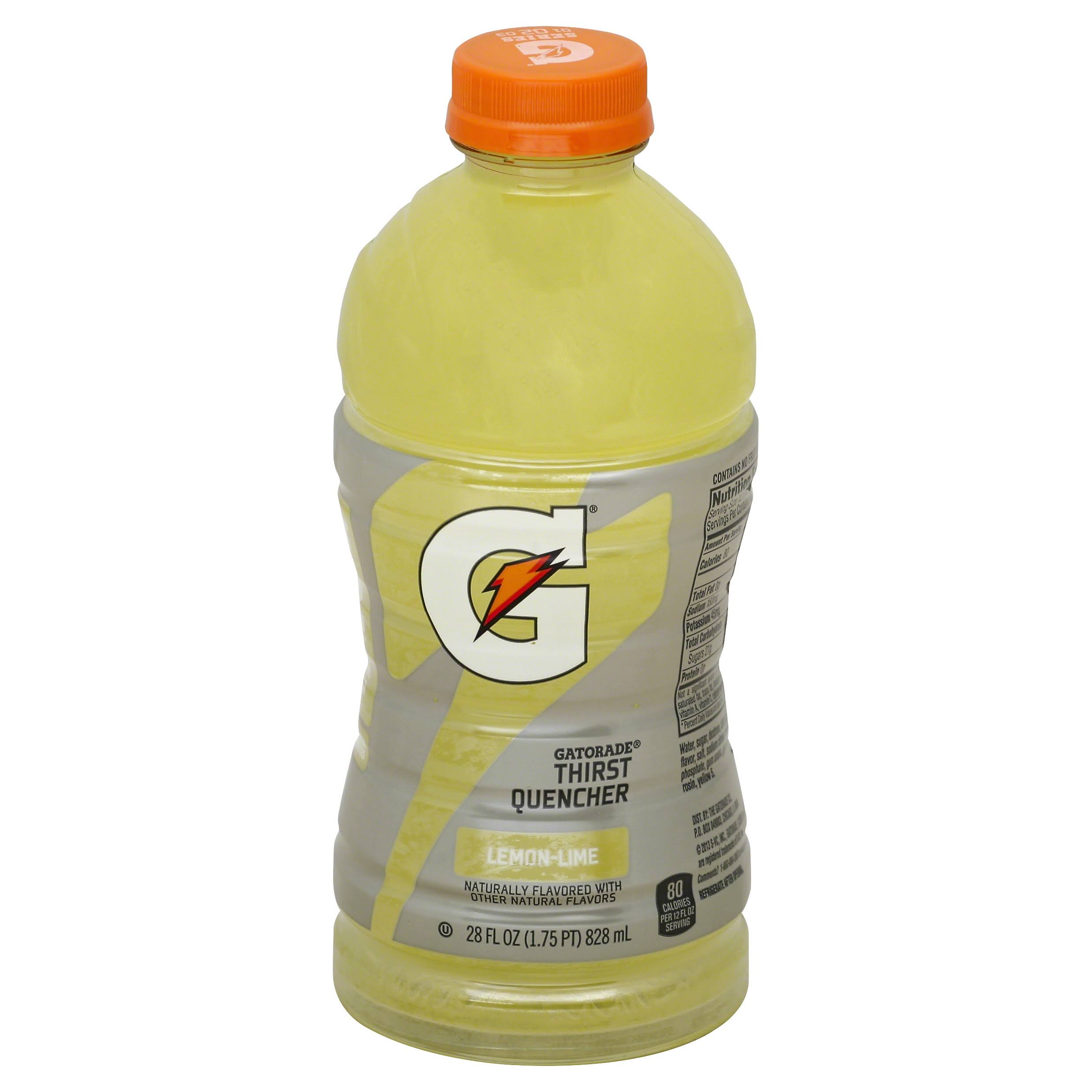 Gatorade G Series Thirst Quencher, 02 Perform, Lemon-Lime - 28 fl oz
