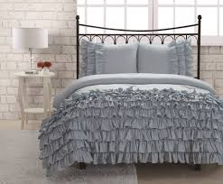 Dorm Room Bed Skirts by Twin Miley Mini Ruffle Comforter Set Blue College Pinterest