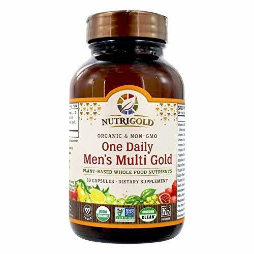 NutriGold One Daily Men's Multi Gold - 60 Capsules