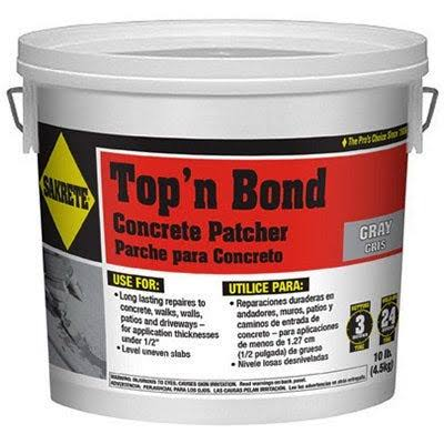 Sakrete of North America Top 'N Bond Concrete Patcher - 10lbs
