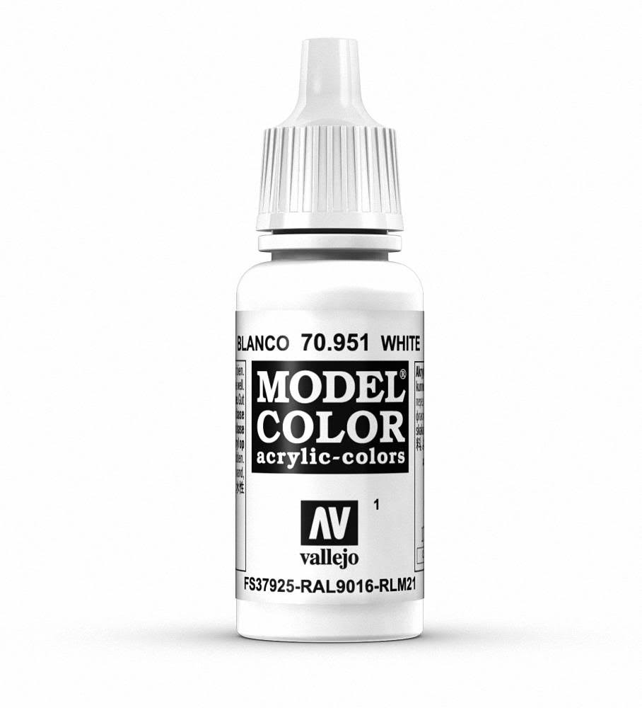 Vallejo Model Color Paint - White