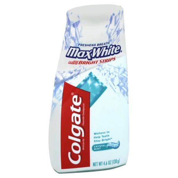 Colgate Max White Toothpaste - 4.6oz, Crystal Mint