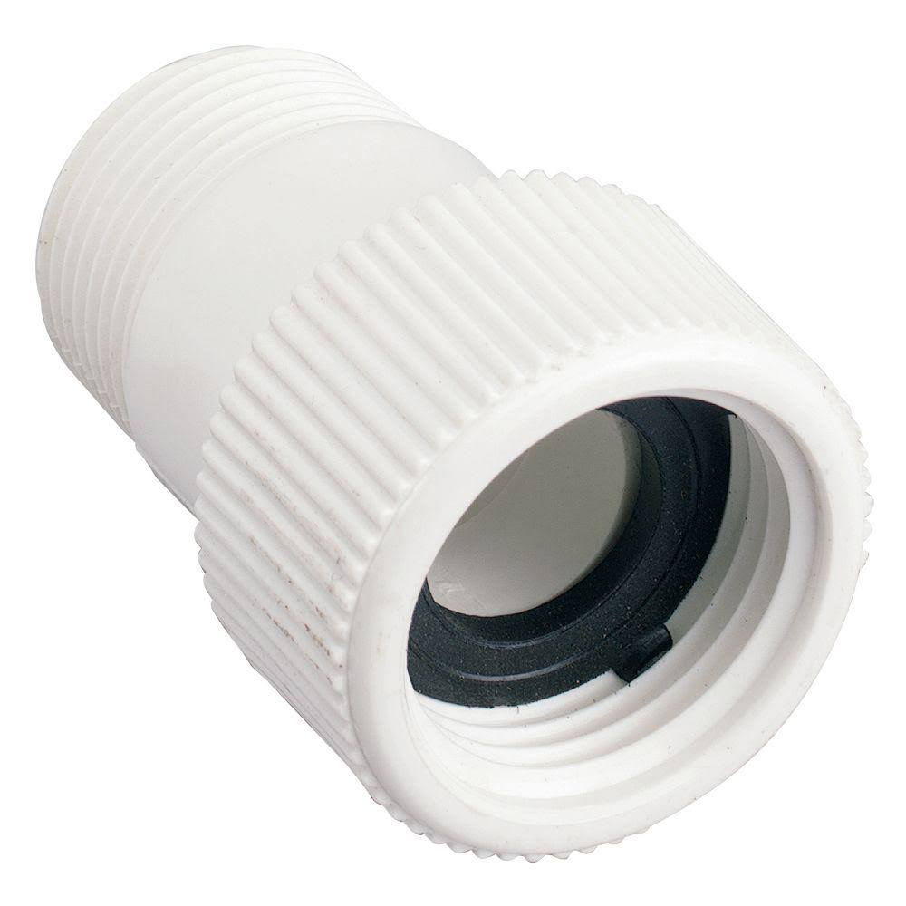 Orbit PVC Irrigation Pipe Fitting - White, 3/4""