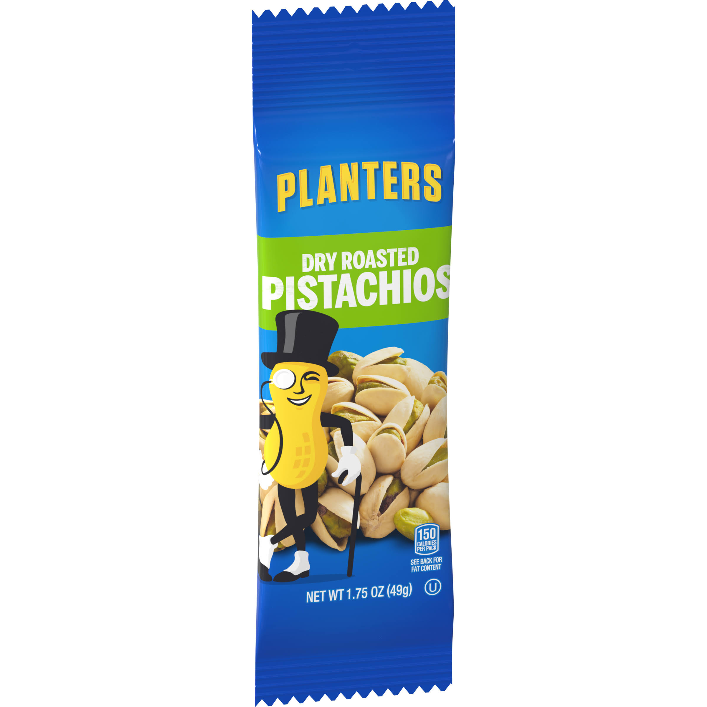 Kraft Planters Dry Roasted Pistachios - 1.75 oz