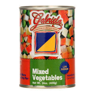 Mixed Vegetables Low Sodium 15z Gabriela Wholesale, Cheap, Discount, Bulk (Pack of 24)