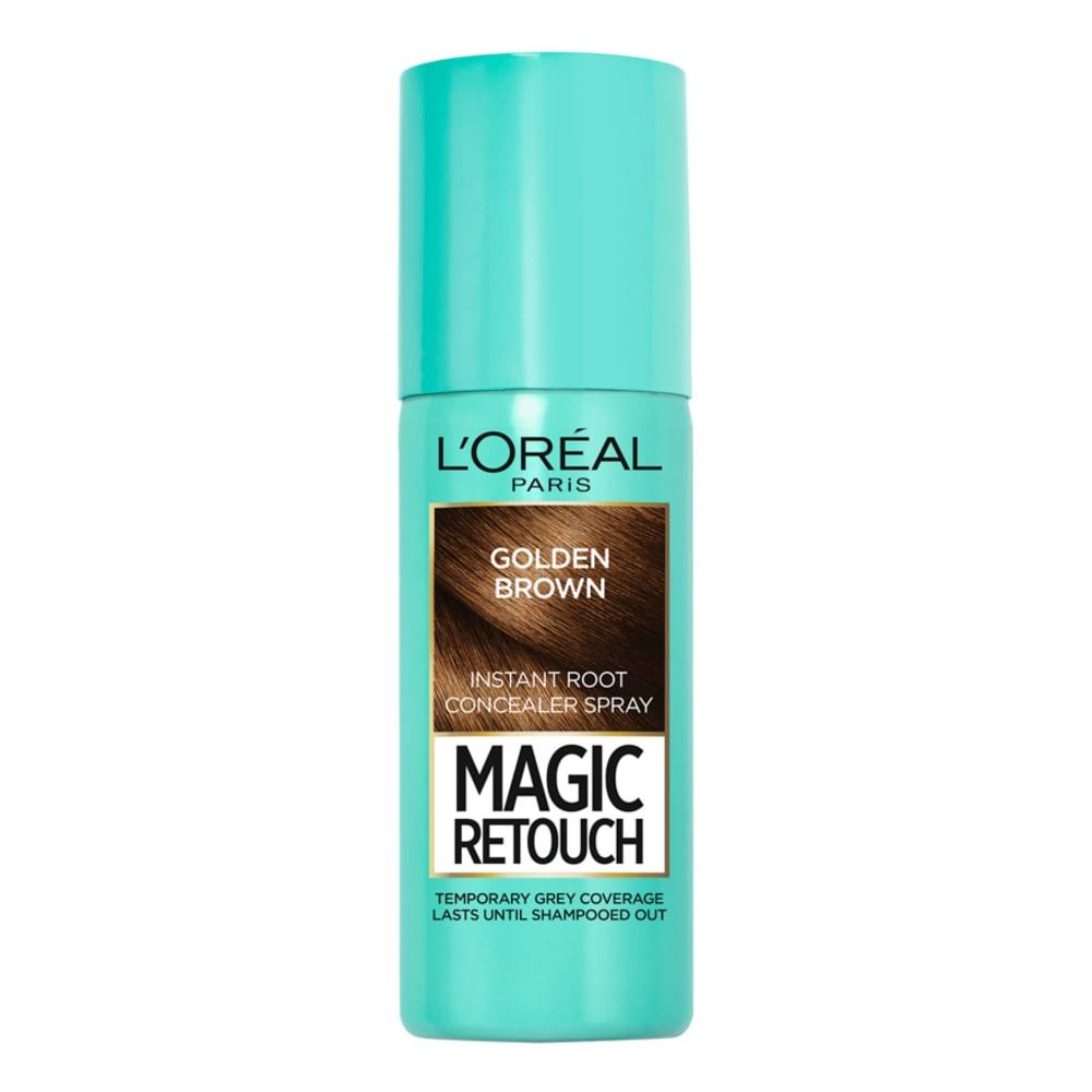 L'Oreal Paris Magic Retouch Concealer Spray - Golden Brown, 75ml