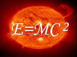 Image of the text E=MC squared.