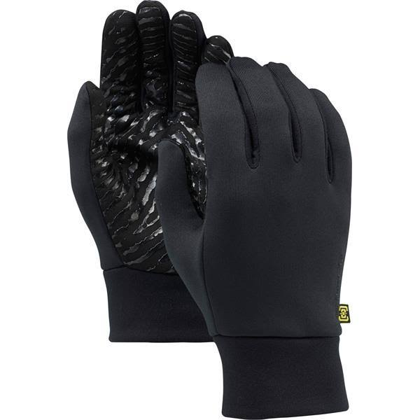 Burton Powerstretch Liner Gloves - True Black, Medium/Large