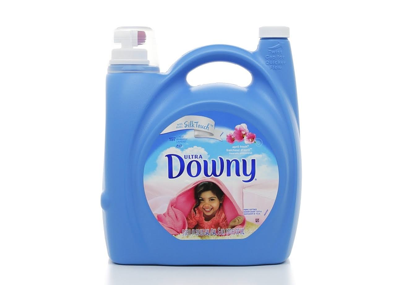 Ultra Downy Fabric Softener - 170oz, April Fresh