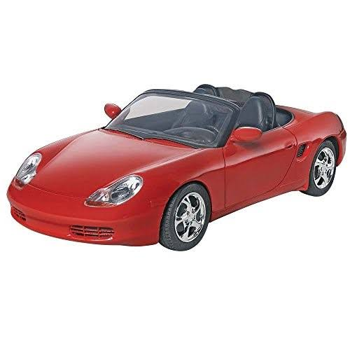 Revell Porsche Boxster Snap Tite Plastic Car Model Kit - 1:24 Scale