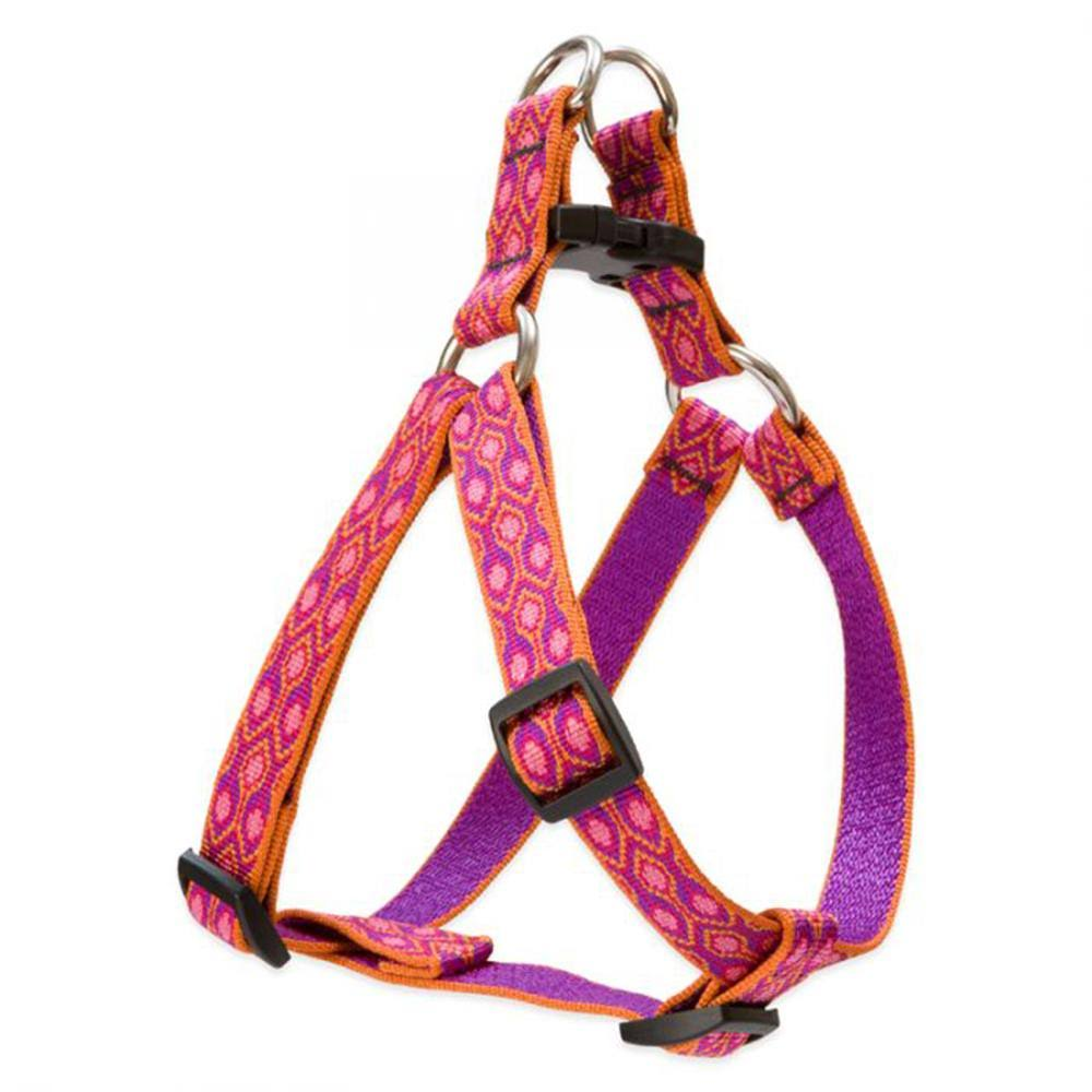"LupinePet Originals 3/4"" Alpen Glow Step in Dog Harness"