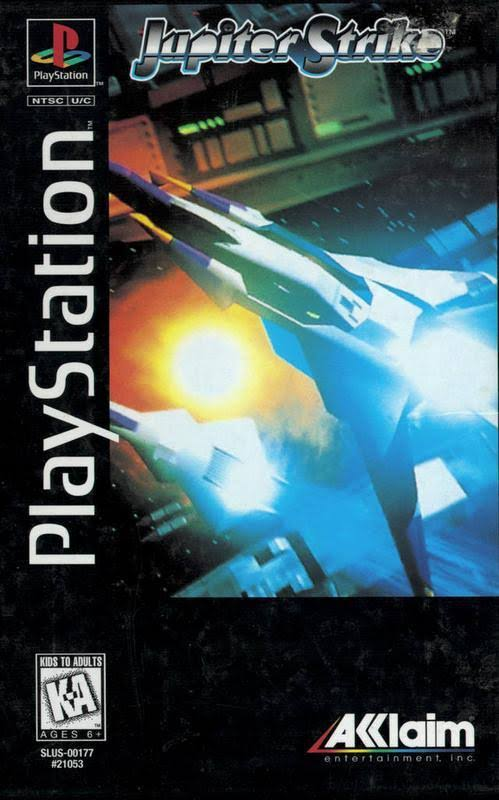 Jupiter Strike n PS1 Game