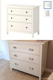 Hemnes 6 Drawer Dresser Grey Brown by Before And After Updated Knobs Hardware Ikea Hemnes 3 Drawer
