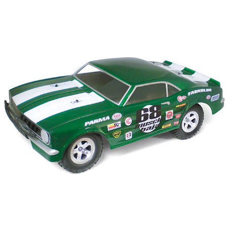 Parma PAR1248 1968 Muscle Baja Short Course Clear Body