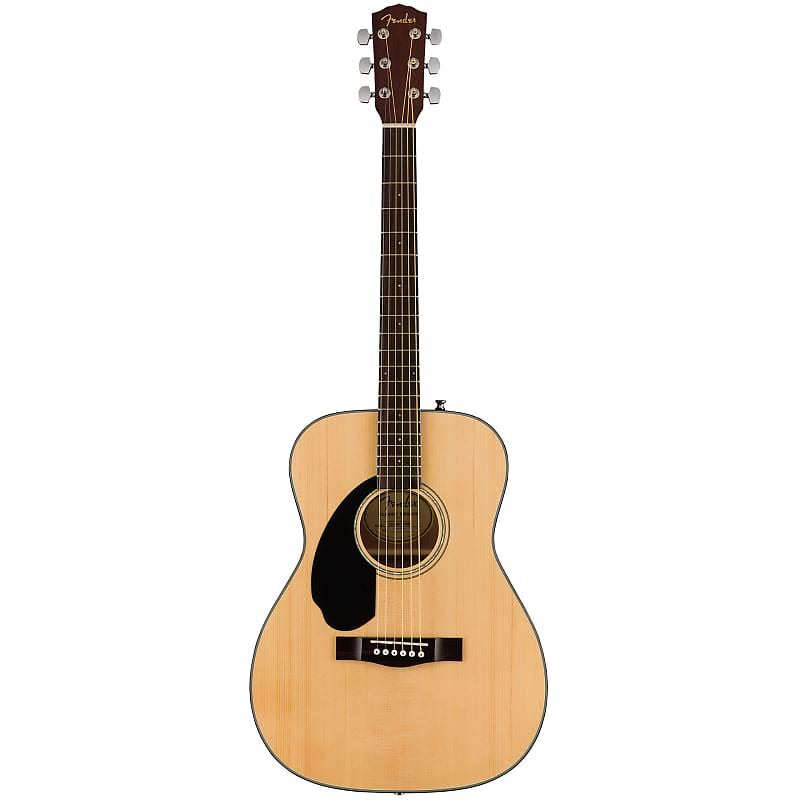 Fender CC-60S Concert Natural Left Handed Acoustic Guitar