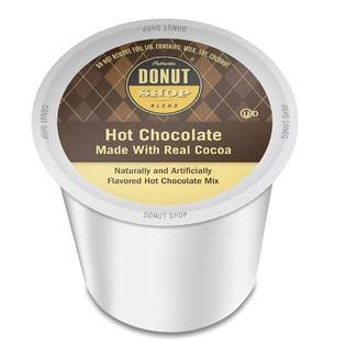 Authentic Donut Shop Blend Keurig Brewers K-Cup Portion Pack - Hot Chocolate, 24ct
