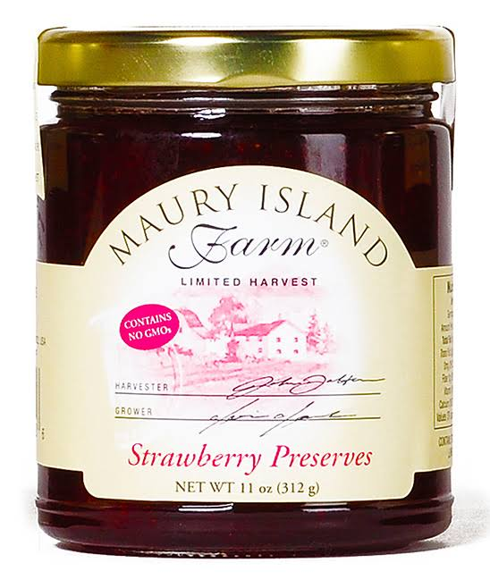 Maury Island Farm Gourmet Strawberry Preserves - 312g