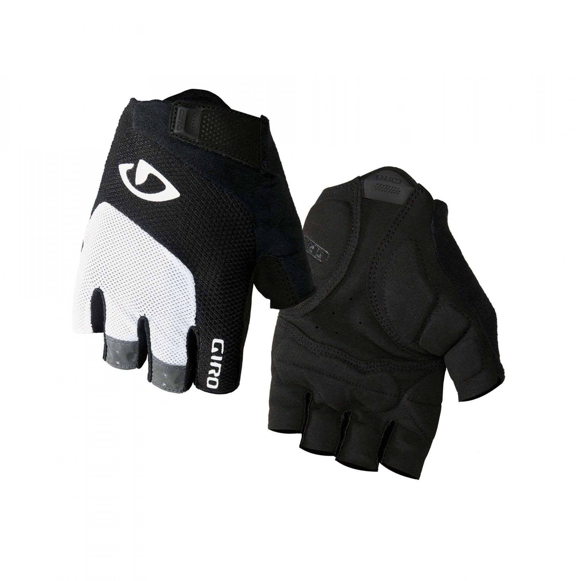 Giro Bravo Gel Gloves White / Black