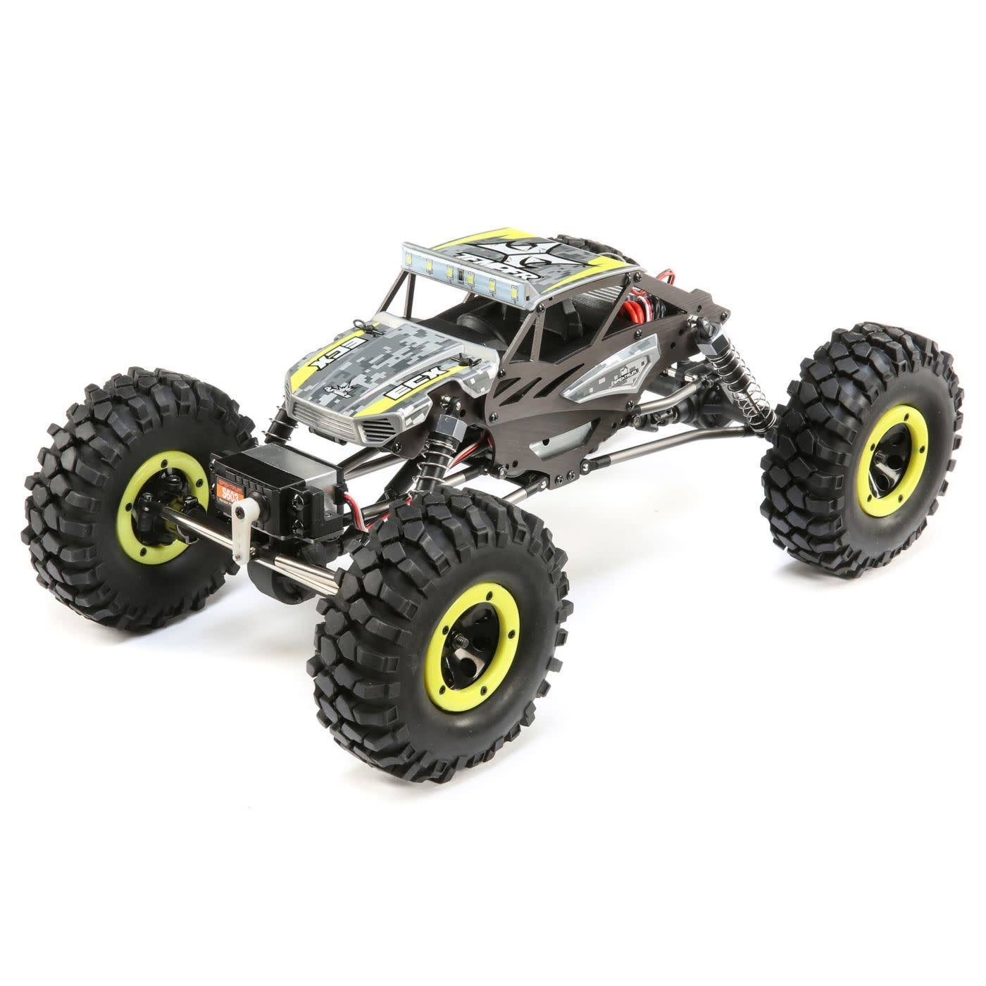 ECX ECX01015T1 Yellow 1/18 Temper 4WD Gen 2 Brushed RTR