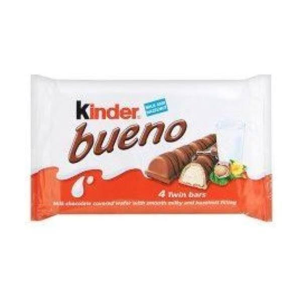 Kinder Bueno 4 Pack (11x172Gm)