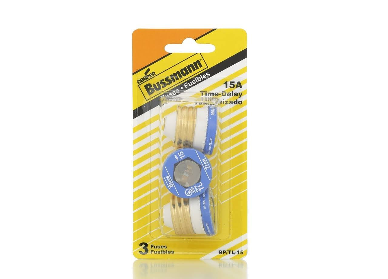 Bussmann Medium Duty Time Delay Fuse - 15 Amp